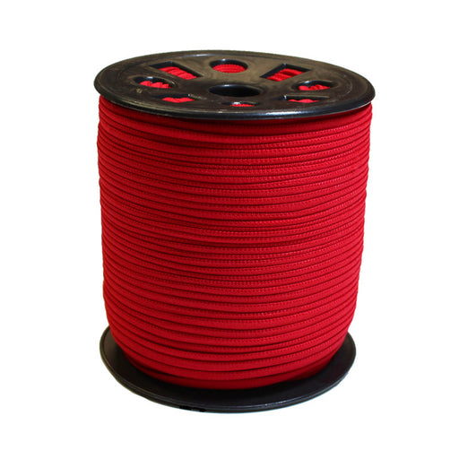 Red Banded Elastic - 4mm - The Village Haberdashery