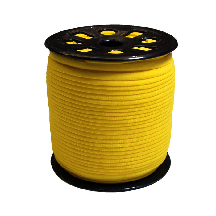 Yellow Banded Elastic - 4mm - The Village Haberdashery