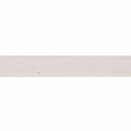 Herringbone Tape - Natural - 15mm - The Village Haberdashery