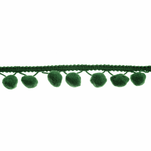 Pom Pom Trim - Forest - 20mm - The Village Haberdashery
