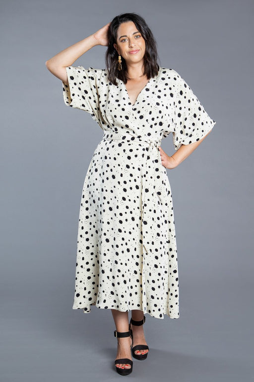 Closet Core Patterns - Elodie Wrap Dress - The Village Haberdashery
