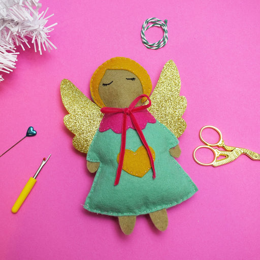 The Make Arcade Christmas Felt Sewing Kit - Fairy Tree Topper - The Village Haberdashery