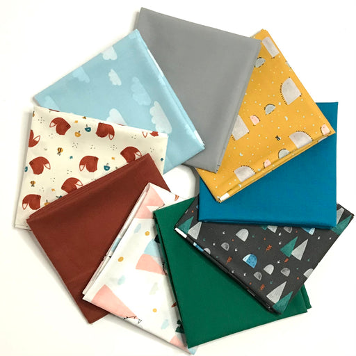 Summer Skies Fat Quarter Bundle by Aljit Emmens for Cotton + Steel - The Village Haberdashery