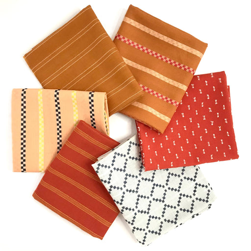 Warp and Weft Fat Quarter Bundle - The Village Haberdashery