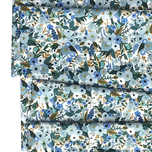 Blue Petite Garden Party Cotton from Garden Party by Rifle Paper Co for Cotton + Steel - The Village Haberdashery