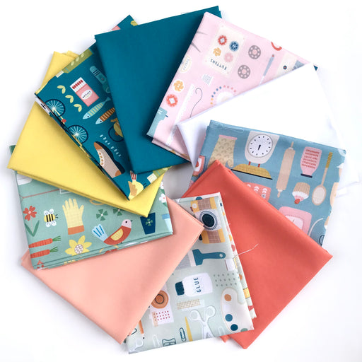 Hobbies by Sally Payne Fat Quarter Bundle - The Village Haberdashery