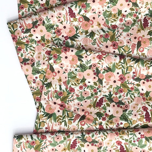 Rose Petite Garden Party Cotton from Garden Party by Rifle Paper Co for Cotton + Steel - The Village Haberdashery