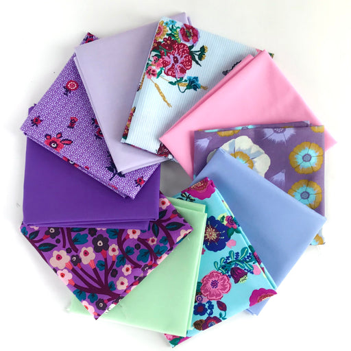 Cool Pastel Spring Fat Quarter Bundle - The Village Haberdashery