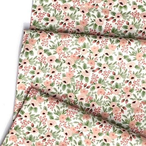 Rose Rosa Cotton from Garden Party by Rifle Paper Co for Cotton + Steel - The Village Haberdashery