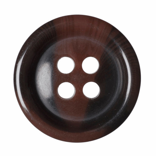 Faux Tortoise Shell Buttons - Tan - 15mm - The Village Haberdashery