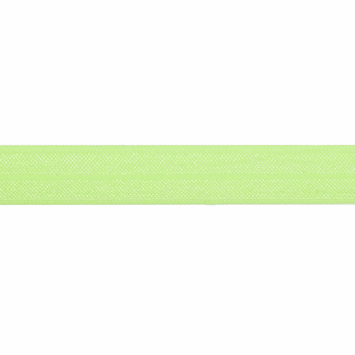 Fold Over Elastic - Neon Green, 16mm - The Village Haberdashery