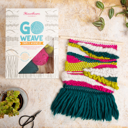 Hullaballoo Weaving Kit by Hawthorn Handmade - The Village Haberdashery