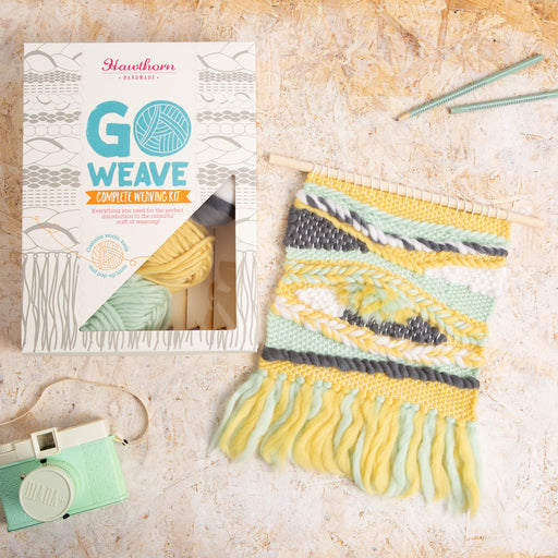 Halcyon Weaving Kit by Hawthorn Handmade - The Village Haberdashery