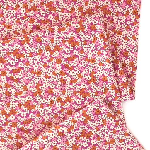Blush Retro Prairie Cotton from The Flower Society by AGF Studio - The Village Haberdashery