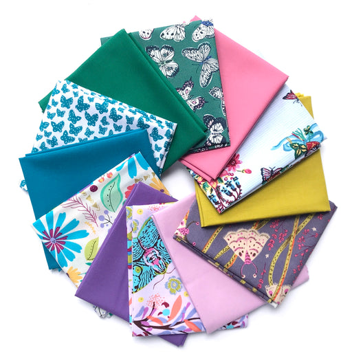 Flights of Fancy Fat Quarter Bundle - April Modern Quilt Club Pick - The Village Haberdashery