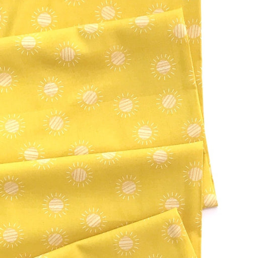 Yellow Desert Suns Cotton from Prickly Pear by Emily Taylor - The Village Haberdashery