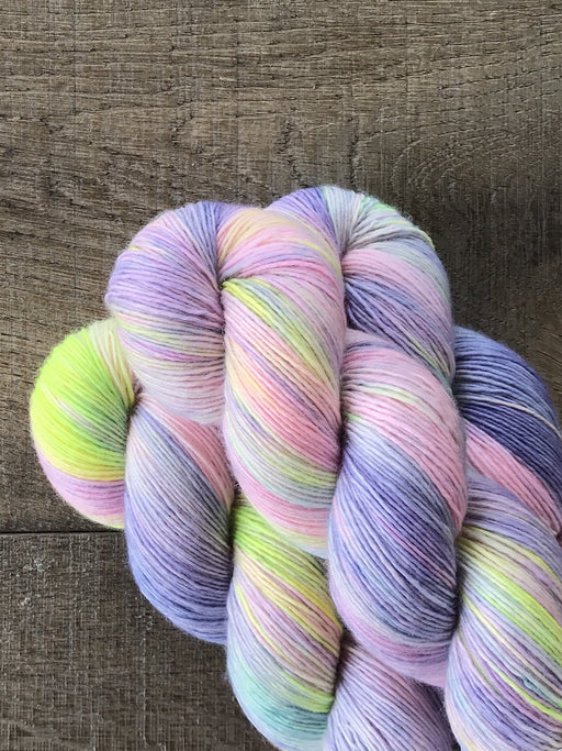 Qing Fibre Merino Singles - Holographic - The Village Haberdashery