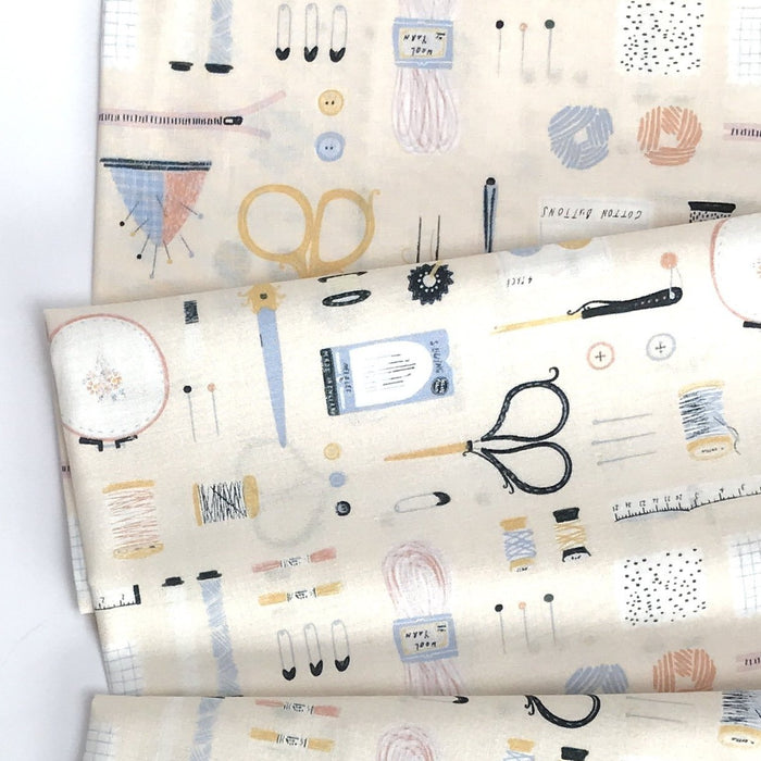 Marzipan Sew On & Sew Forth Cotton from Sew on & Sew Forth by Dear Stella