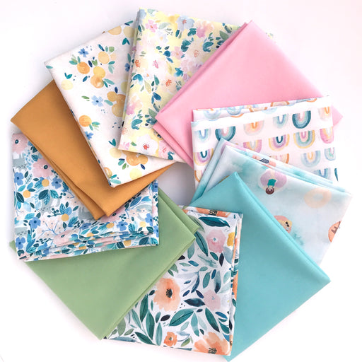 Summer Lovin Fat Quarter Bundle by Clara Jean for Dear Stella