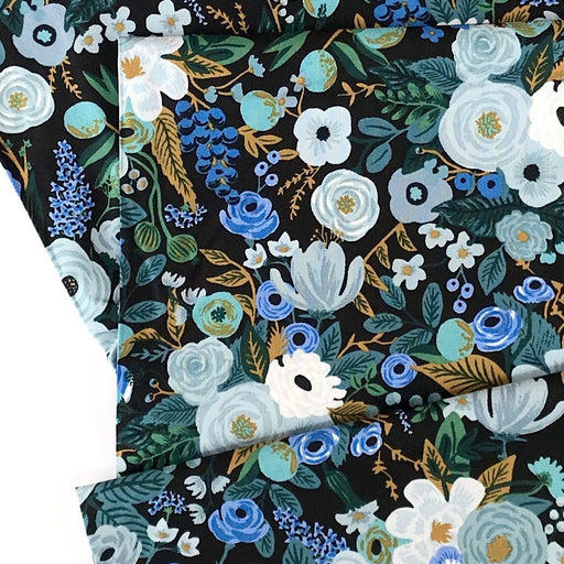 Blue Garden Party Cotton from Garden Party by Rifle Paper Co for Cotton + Steel