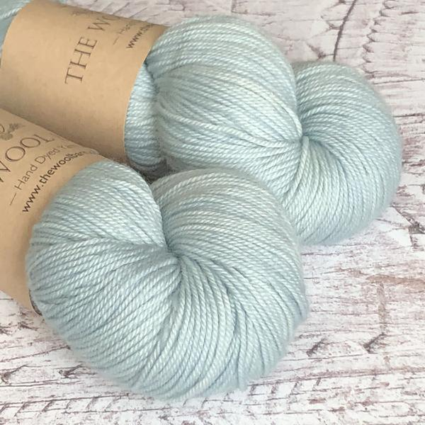 The Wool Barn - Cashmere Sock - Duck Egg - The Village Haberdashery