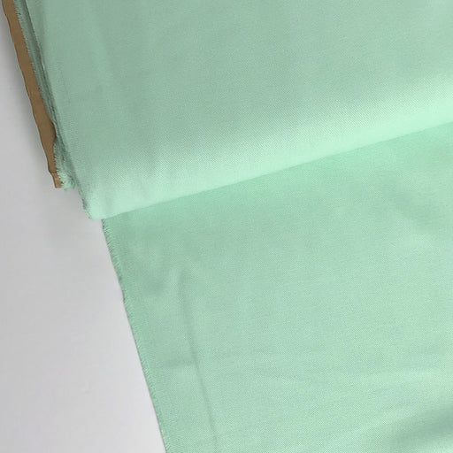 Mint Green Ventana Cotton Twill - The Village Haberdashery