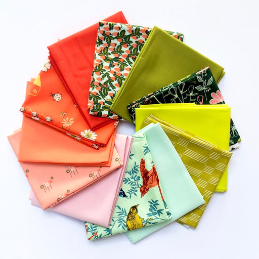 In the Garden Fat Quarter Bundle - October Modern Quilt Club Pick - The Village Haberdashery