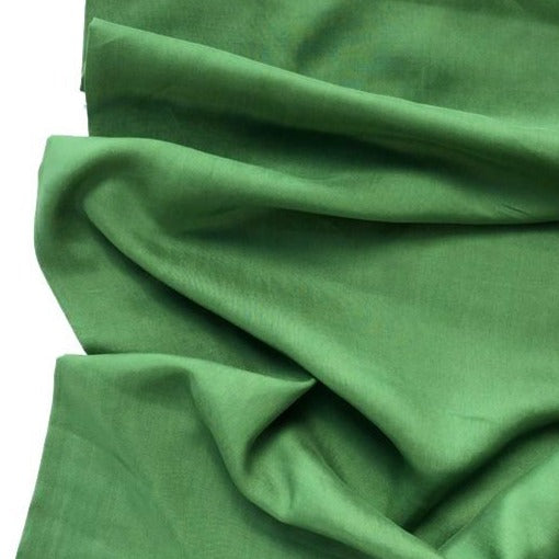 Emerald Cross Weave Made with TENCEL™ Fibres - The Village Haberdashery