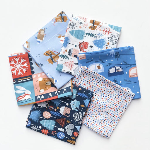 Snow Much Fun Fat Quarter Bundle by Sarah Knight - The Village Haberdashery