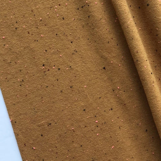 Nature Matters Jersey - Caramel with Neon Speckles - The Village Haberdashery