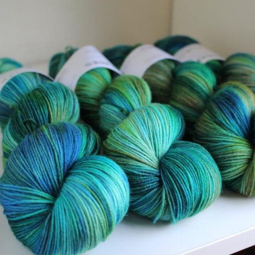 RiverKnits Superwash BFL 4-Ply - Kingfisher - The Village Haberdashery