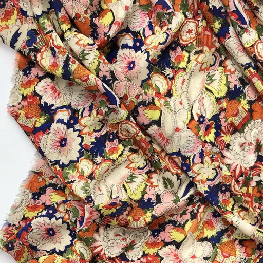 Fabric - Magic Garden Viscose Lawn By Fabric Godmother