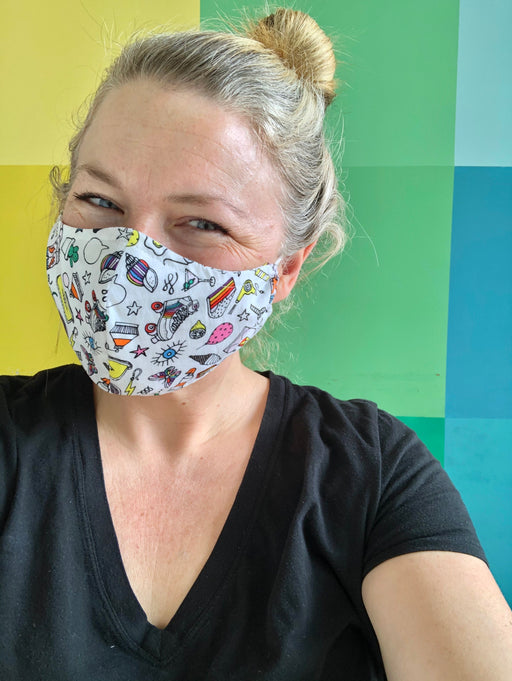 Learn to Sew a Face Mask with Cathy MacDonald - The Village Haberdashery