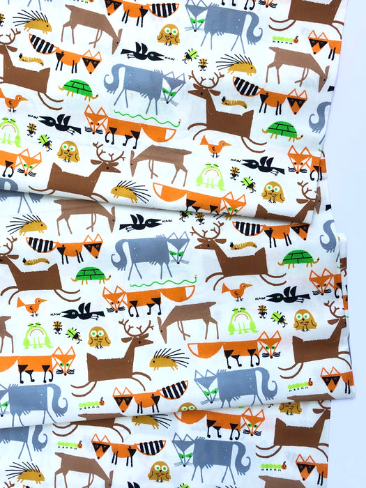 Forest Friends Organic Cotton from Favorites By Ed Emberley - The Village Haberdashery