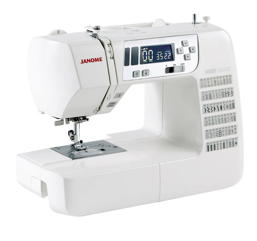 Janome 360DC Sewing Machine -  JUNE/JULY PREORDER - The Village Haberdashery