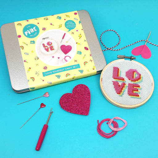 Craft Kits - The Make Arcade Craft Tin - Love Yourself