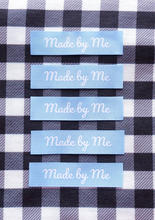 Crafty Pinup - 'Made By Me' Woven Label Pack - The Village Haberdashery