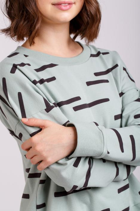 Sewing with Stretch: Jarrah Jumper with Charlotte Newland - The Village Haberdashery