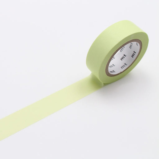 MT Washi Tape - Pastel Lime - The Village Haberdashery