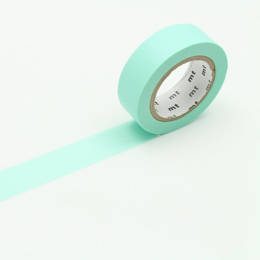 MT Washi Tape - Pastel Emerald - The Village Haberdashery