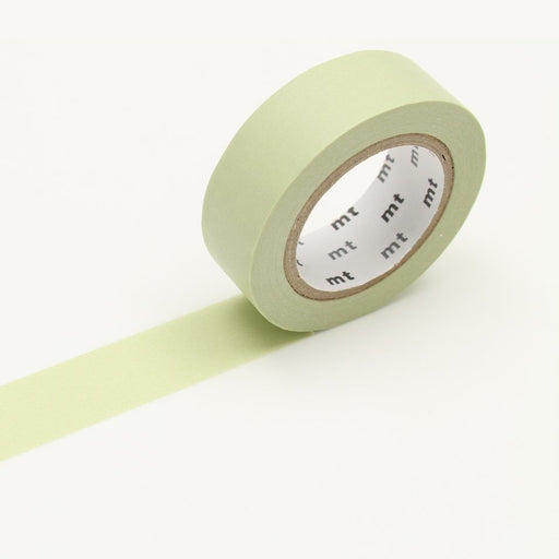 MT Washi Tape - Pastel Olive - The Village Haberdashery