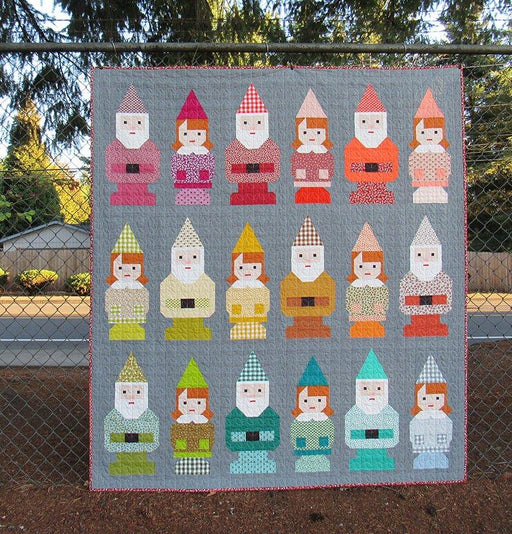 Elizabeth Hartman - Norm and Nanette Quilt Pattern - The Village Haberdashery