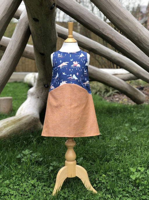 Two Stitches - Zoe Dress - PDF Dress - The Village Haberdashery