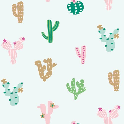 Tiny Cactus Cotton by Stephanie Thannhauser for Ocean Drive - The Village Haberdashery