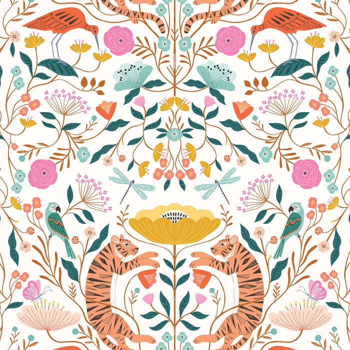 Tropical Scene by Bethany Janine - The Village Haberdashery