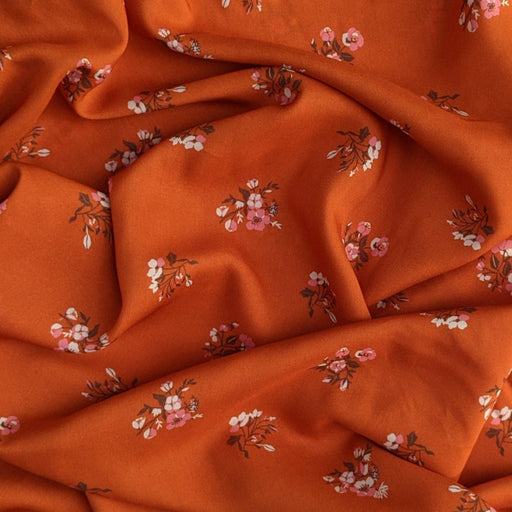 Burgeon Autumnal Rayon from Kismet designed by Sharon Holland for AGF - The Village Haberdashery