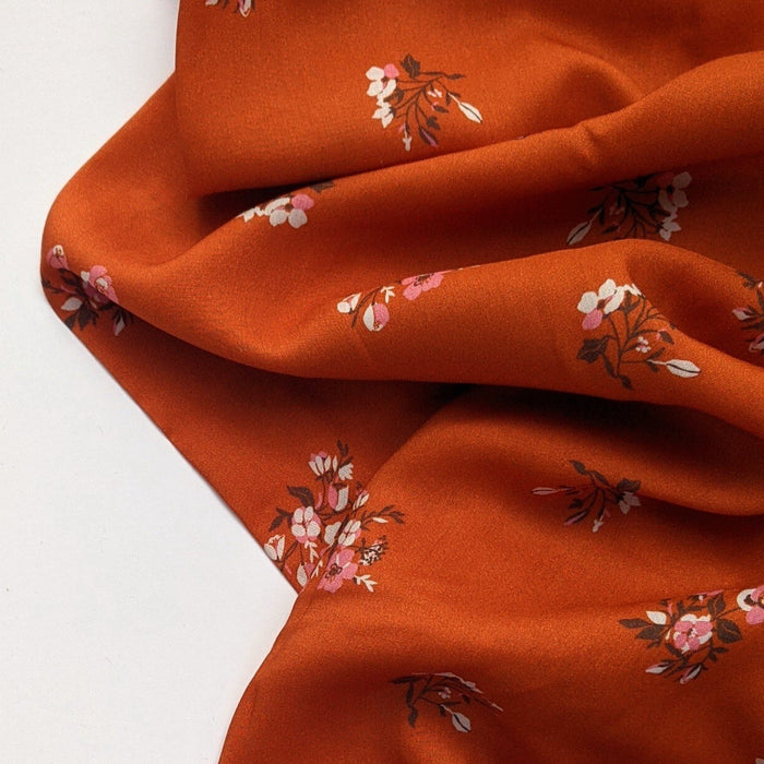 Burgeon Autumnal in Rayon from Kismet designed by Sharon Holland for AGF - The Village Haberdashery