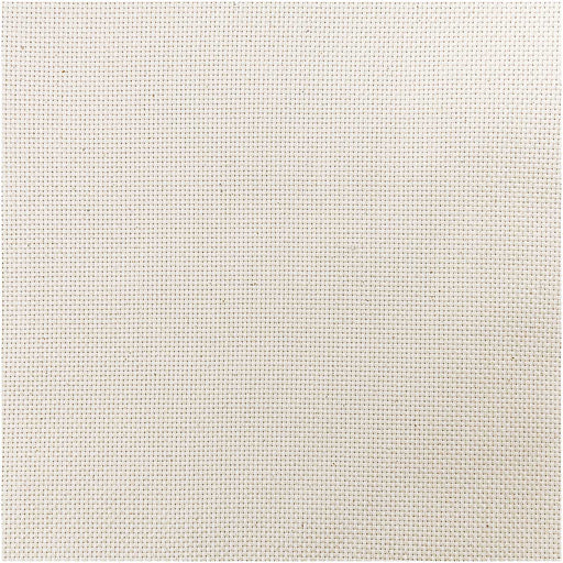 Monk's Cloth - 12 Count in Cream - 25cm remnant - The Village Haberdashery