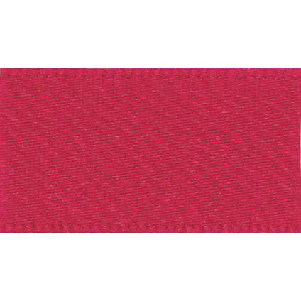 Satin Ribbon - Red - 25mm - The Village Haberdashery