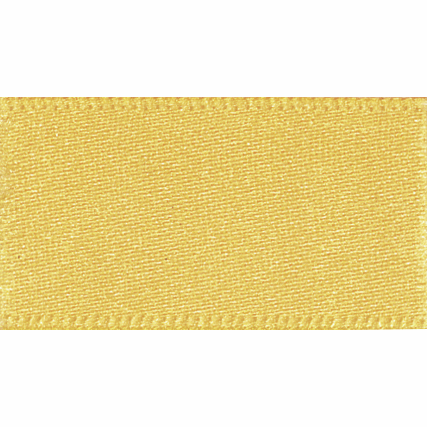 Satin Ribbon - Gold - 15mm - The Village Haberdashery